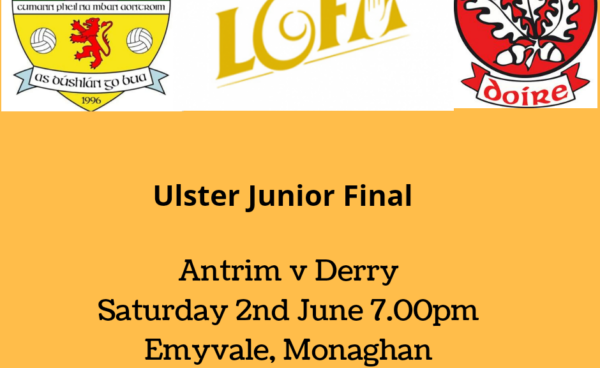 Senior Squad set to take home Antrim's 4th Ulster title in 2018